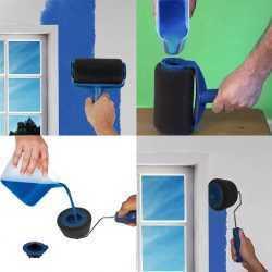 Комплект валяци за боядисване с резервоар и удължител на едро 7