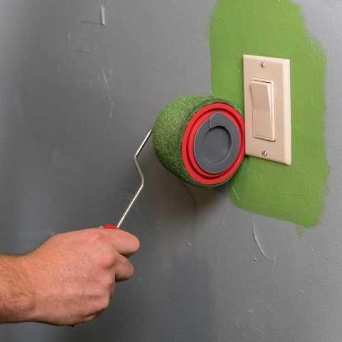 Комплект валяци за боядисване с резервоар и удължител на едро 5