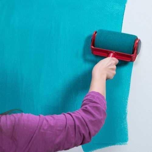 Комплект валяци за боядисване с резервоар и удължител на едро 6