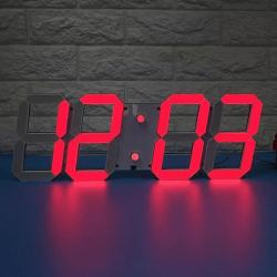 3D LED Часовник 18