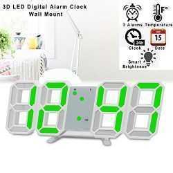 3D LED Часовник 20