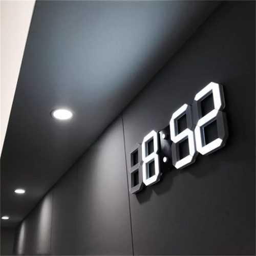 LED модерен часовник на едро 3