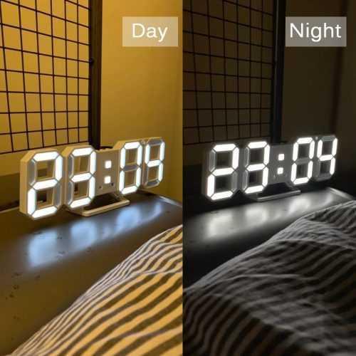 3D LED Часовник 4