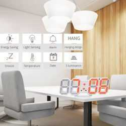 3D LED Часовник 14
