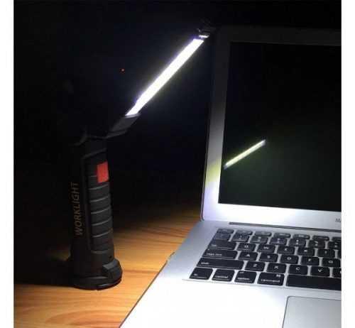 Презаредим работен фенер с чупеща глава COB WORK на едро 6