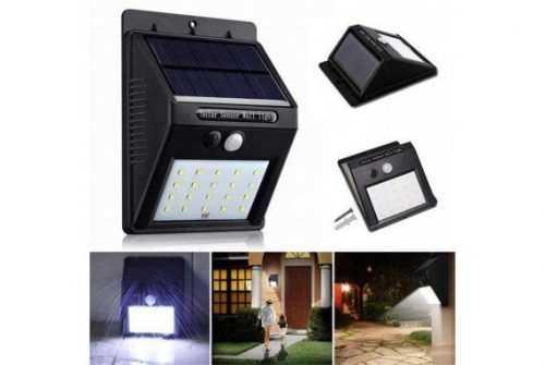 16бр. LED Соларни лампи със сензор за движение 5