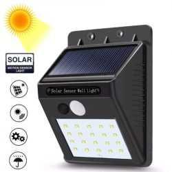 10 броя 30 LED Соларни лампи 7