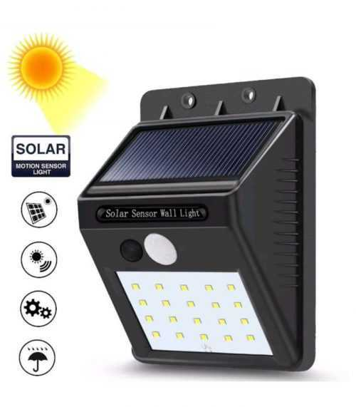 10 броя 30 LED Соларни лампи 5