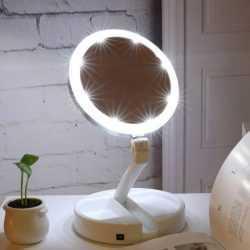 Сгъваемо LED огледало за гримиране на едро 7
