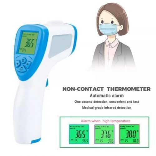 Инфрачервен Безконтактен Термометър SUNPHOR на едро и дребно 4