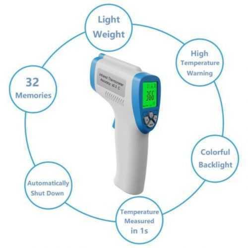 Инфрачервен Безконтактен Термометър SUNPHOR на едро и дребно 5