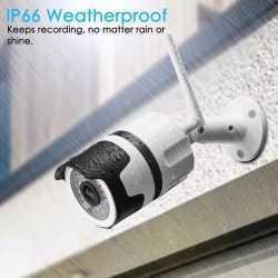 IP метална камера за външен монтаж на едро и дребно 12
