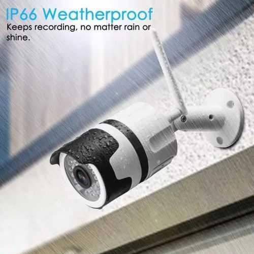 IP метална камера за външен монтаж на едро и дребно 7
