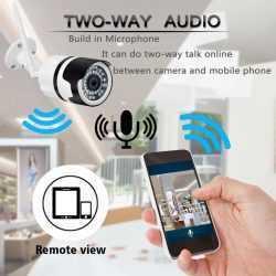 IP метална камера за външен монтаж на едро и дребно 13