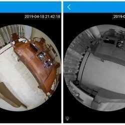 Панорамна WIFI камера LED крушка на едро и дребно 9