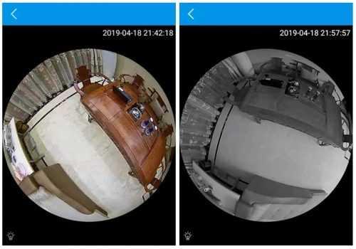 Панорамна WIFI камера LED крушка на едро и дребно 5
