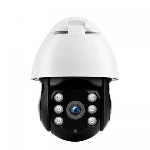 Куполна черна безжична камера 6LED на едро и дребно 3
