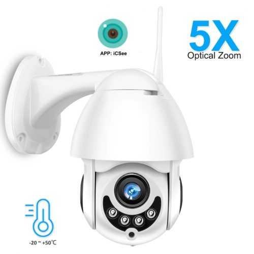 Куполна камера Icsee WiFi камера Full HD + 64гб карта подарък 4