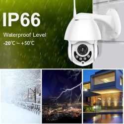 Куполна камера Icsee камера Full HD на едро и дребно 10