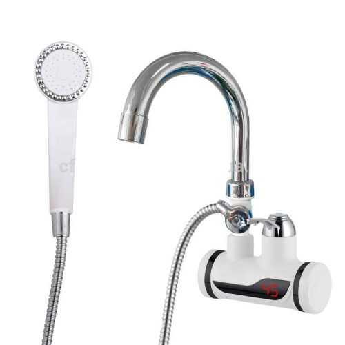 Нагревател за вода + Душ слушалка на едро и дребно 3