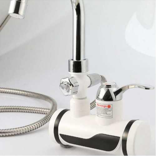 Нагревател за вода + Душ слушалка на едро и дребно 4