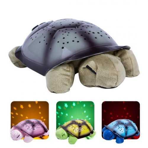Нощна лампа костенурка на едро и дребно 8