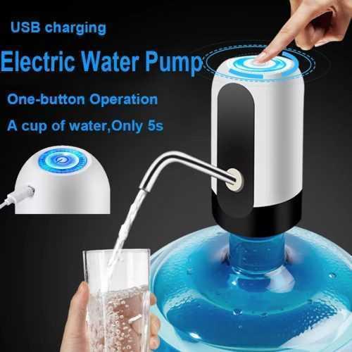 Автоматична помпа за вода + уплътнител за туби 3л.,5л.,10л. 4
