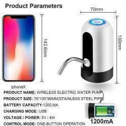 Автоматична помпа за вода + уплътнител за туби 3л.,5л.,10л. 8