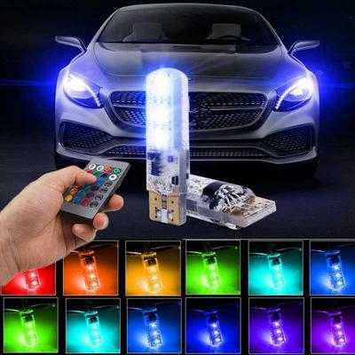 LED RGB крушки за габарити с дистанционно на едро и дребно 3