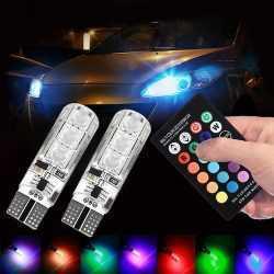 LED RGB крушки за габарити с дистанционно на едро и дребно 7