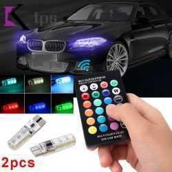 LED RGB крушки за габарити с дистанционно на едро и дребно 8