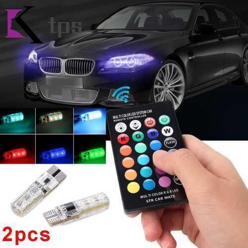 LED RGB крушки за габарити с дистанционно на едро и дребно 5