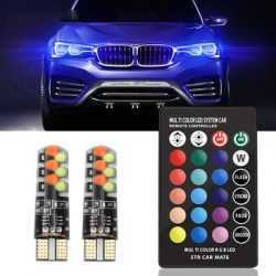 LED RGB крушки за габарити с дистанционно на едро и дребно 9
