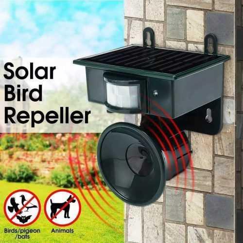 Ултразвуков соларен уред против птици на едро и дребно 3