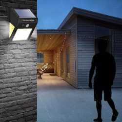 3+1 подарък 60 LED Соларна Лампа с Датчик за Движение 10