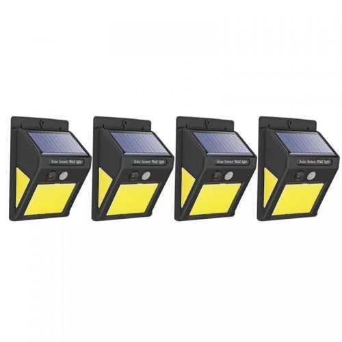 3+1 подарък 60 LED Соларна Лампа с Датчик за Движение 4