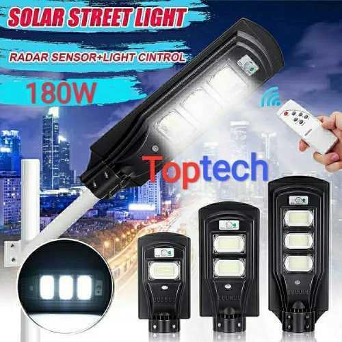 Соларна улична лампа 180W на едро и дребно 7