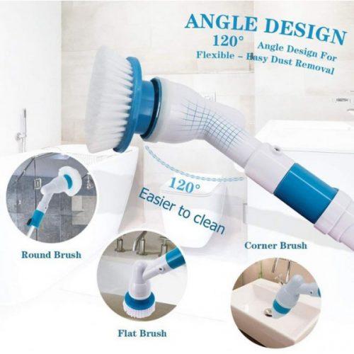 Spin scrubber четка за баня на едро и дребно 8