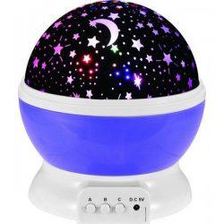 Детска нощна лампа проектор звездно небе на едро и дребно 9