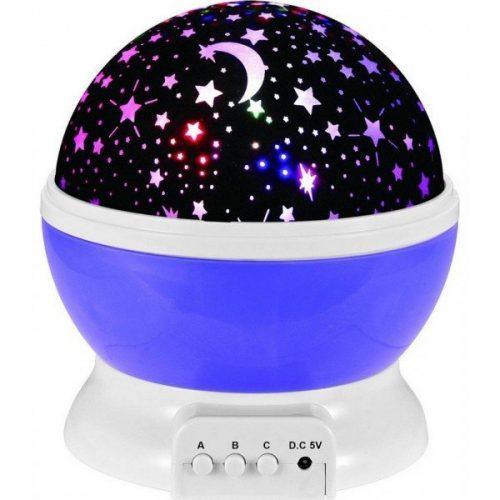 Детска нощна лампа проектор звездно небе на едро и дребно 4