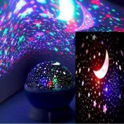Детска нощна лампа проектор звездно небе на едро и дребно 10