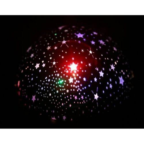 Детска нощна лампа проектор звездно небе на едро и дребно 8