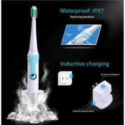 Електрическа четка за зъби с 4 глави Kemei Tops на едро и дребно 11