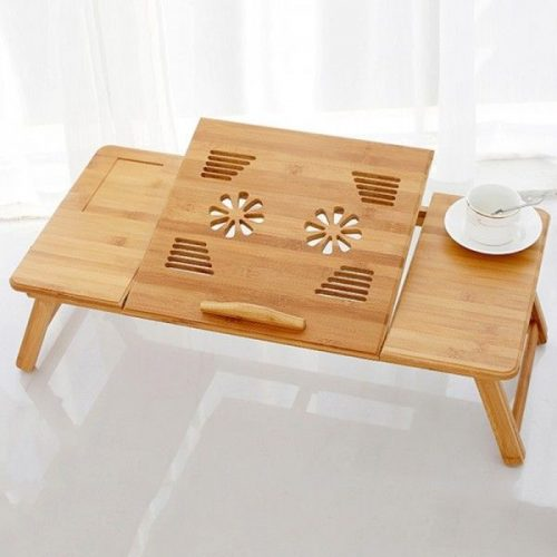 Голяма бамбукова маса за лаптоп на едро и дребно 5