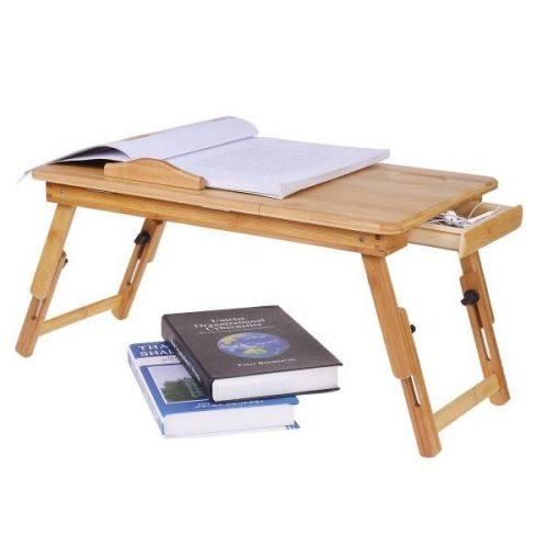 Малка бамбукова маса за лаптоп на едро и дребно 11