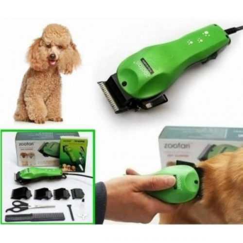 Машинка за подстригване на домашни любимци Zoofari на едро и дребно 4