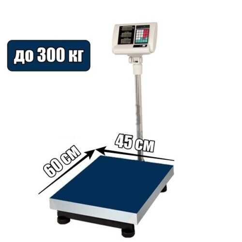 300 Кг. Дигитален Платформен Кантар на едро 3