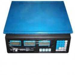 Електронен кантар до 40кг с метален плот 6
