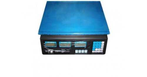 Електронен кантар до 40кг с метален плот 4