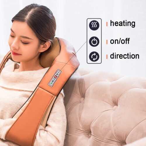 Шиацу масажор модел 2020 с 6 бутона 3